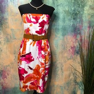 📌 Calvin Klein Beautiful Strapless Dress